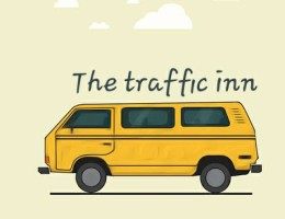 Yellow bus in lagos traffic